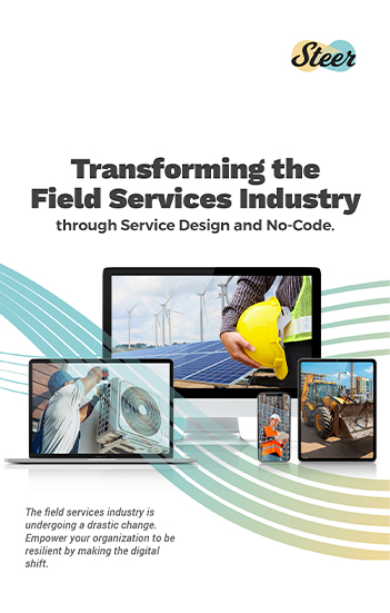 Transforming the Field Services Industry through Service Design and No-Code