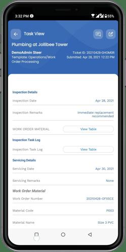 Mobile App for Technicians