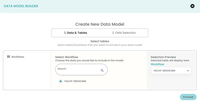 Data Model Builder