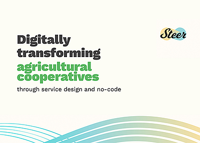 Digitally Transforming Agricultural Cooperatives through Service Design and No-Code eBook