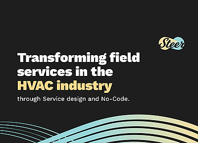 Transforming Field Services in the HVAC Industry Through Design Thinking and No-Code eBook