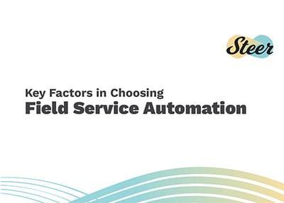 Key Factors in Choosing Field Service Automation eBook