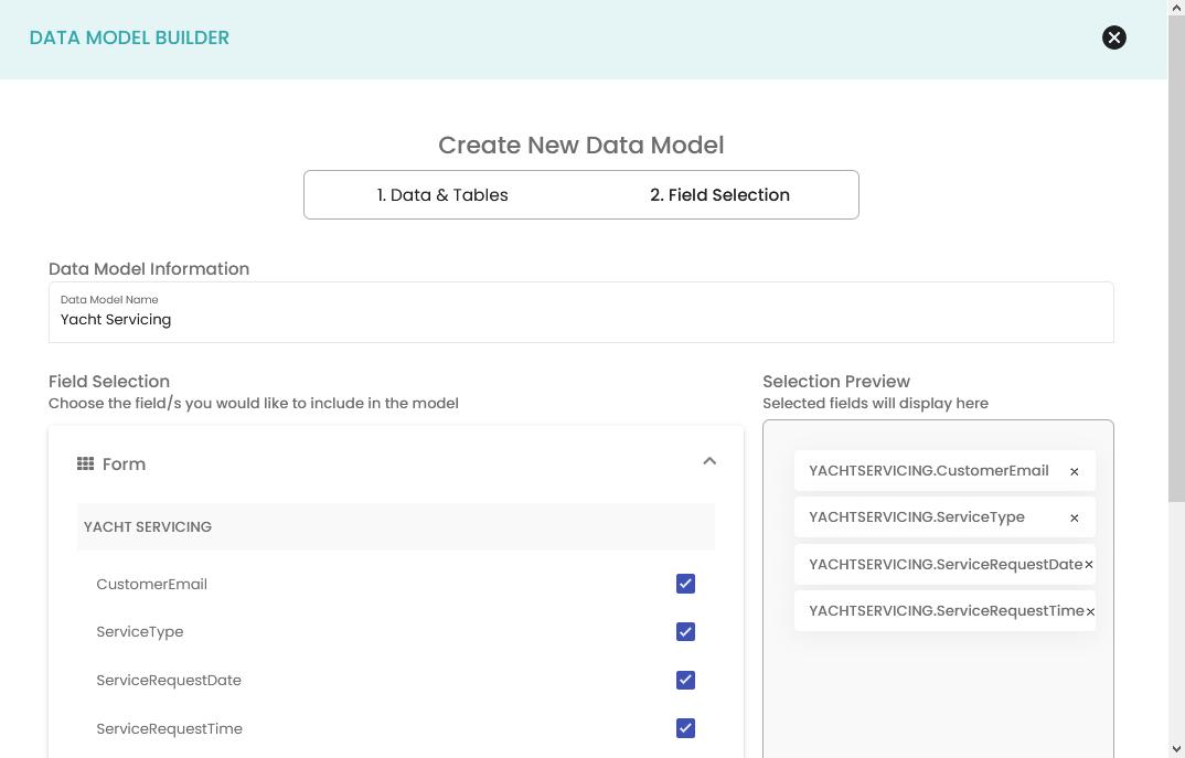 1. Data Model